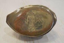 Tabatière en coquillage et argent - Cowrie shell snuff box - ca 1800