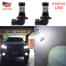 2x 50W Fog Light 9145 6000K CREE White LED 2400LM Bulbs for 2013~17 Ford Escape