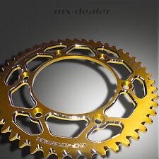 gp-tech Factory pignon roue à chaîne Suzuki jaune rm rmz 125 250 450 48 dents