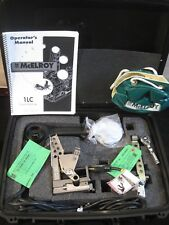 Mcelroy Model 1LC Fusion Welder Set Facer Heater Assemble Machine NEVER USED