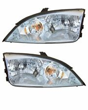 05-07 Ford Focus ZX4 Front Headlights Headlamps Lights Lamps Pair  LH/RH