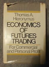 Economics of Futures Trading - Hieronymus - 1971 ed hardcover with dj - poor