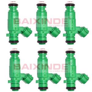 Set of 6 Pieces Fuel Injectors 35310-37150 3531037150 For Hyundai Kia