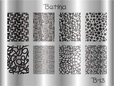 Plaque stamping BETINA B13