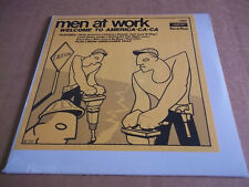 Men at Work  -  Welcome to America-ca-ca (1982) rare live LP  SEALED