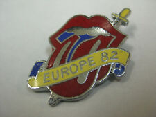 ROLLING STONES EUROPE '82 PIN-NEW