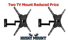 2X Full Motion TV Wall Mount 32 39 40 42 46 LED LCD Flat Screen Bracket