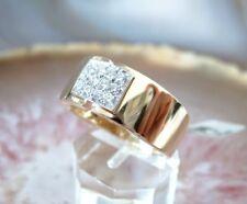 Damen Brillant Ring 585 14 k Gold Gr. 54 - 17,25 mm Ø 0,24 ct. Schmuck