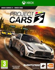 Project Cars 3 Xbox One New Sealed