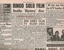 BEATLES Mystery Tour &  Ringo 'Candy' film 1967 UK ARTICLE / clipping