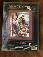 Dimensions Gold Collection Counted Cross Stitch Kit 3856 Proud and Noble 1997
