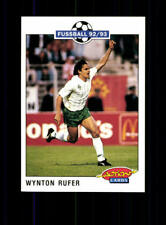 Wynton Rufer  Werder Bremen Panini Action Card 1992-93+ A 183221