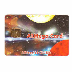 ATMega SMART CARD 163 & 24C256, NEW Blank