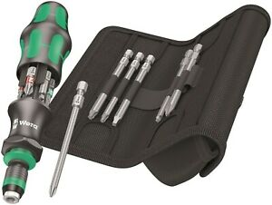 Wera Kraftform Kompakt 20 Tool Finder 3 Screwdriver Set 13 Piece 05051013001