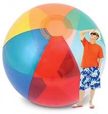 8-9 Feet Tall Humongous Transparent Giant Beach Ball Inflated inflatable jumbo