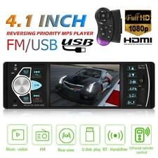 4.1 inch 1DIN Car Stereo MP5 Player USB TF AUX RCA BT FM Radio In Dash Head Unit