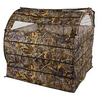 Hay Bale Pigeon Shooting Hide Stubble Grass Wetland Camo Pop Up Decoying Decoys