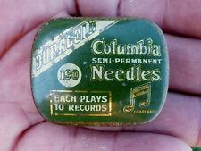 Ancienne Boite Aiguilles Phono Columbia Semi Permanent Needles aiguilles dedans