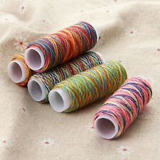 5Pcs Threads Polyester Overlocking String Stitching Sewing Machine Hand Crafts