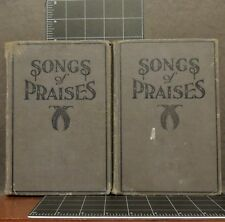 Songs of Praises Arthur W. McKee 1929 Evangelistic church music hymn lot 2