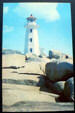 1960s Peggy's Cove Light, Nova Scotia, Canada