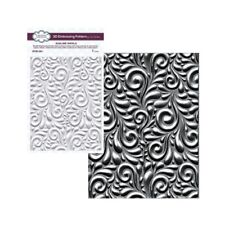 Swirl 3D embossing folder Sublime Swirls Creative Expressions embossing folders