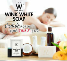 ANTI AGING GLUTA PURE SOAP FACIAL BODY WHITENING BEAUTY SKIN NEW WINK WHITE CARE