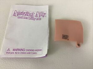 Amazing Ally Doll Instruction Booklet Replacement Battery Cover Vintage Playmate