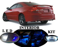 LED Package - Interior + License Plate + Vanity for Honda Accord (17 pieces)