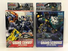 Transformers Galaxy Force Pla-Kit Models Set! 01 Grand Convoy & 02 Scourge! 100%