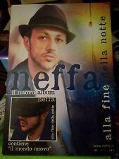 NO CD/LP - NEFFA - CARTONATO PUBBLICITARIO - ALLA FINE DELLA NOTTE cm 48 x cm 68