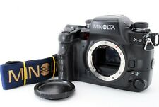 MINT Minolta α9 a-9 Maxxum Dynax 9 SLR Body w/ QD-9 from JAPAN 110304617436