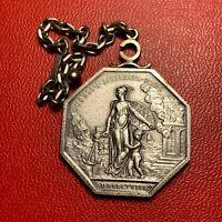 #3920 - RARE - Jeton Louis XVIII Jeton 1818 Compagnie générales Assura - FACTURE