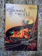 Slimming World Around the world the food optimising way - OLD RED GREEN PLAN VGC