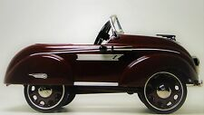 A Pedal Car Dodge Chrysler Plymouth 1937 Hot Rod Vintage Classic Midget Model