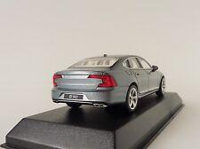 VOLVO S90 Limousine 2016 Osmium gris 1/43 NOREV 870060 S 90 SEDAN gris
