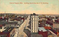 DAYTON OH~LOT OF 5 1910-20s POSTCARDS-MAIN STREET NORTH & SOUTH-LUDLOW-ELEVATED
