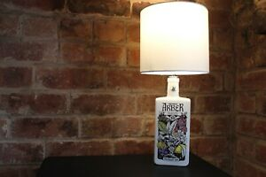 Agnes Arber Table Lamp- Upcycled Craft Gin Lamp