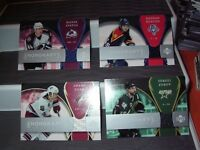 2007/08  UD TRILOGY HONORARY SWATCHES  CARD# HS-SD SHANE DOAN