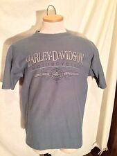 Harley-Davidson Motorcycles XL T-Shirt Ribbed Textured Riders Birmingham