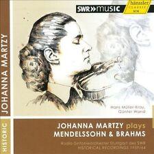 Johanna Martzy Plays Mendelssohn & Brahms, New Music