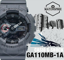 Casio G-Shock Popular Big Case Series Black Addition GA110MB-1A AU FAST & FREE*