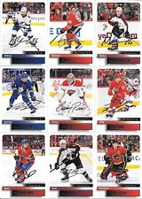 U PICK EM LOT 2019-20 19-20 Upper Deck UD MVP SCE 20th Anniversary Silver Script