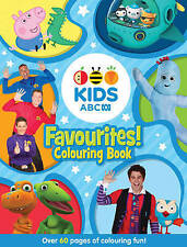 ABC KIDS Favourites! Colouring Book (Blue) by ABC (Paperback, 2016)
