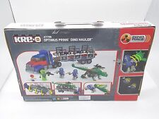 NEW!! KRE-O Transformers Optimus Prime Dino Hauler 275 Pcs. #A7796 Kreo Blocks