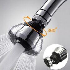 360° Rotate Water Saving Tap Aerator Diffuser Faucet Nozzle Filter Adapter Kits