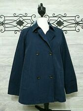 New Women's J Jill Jacket Size M  Tag $129  Blue Long Sleeved