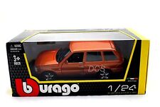 BBURAGO  RANGE ROVER LAND ROVER ORANGE1/24 DIECAST CAR 2202OOR