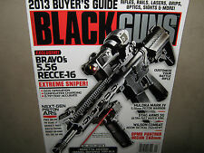Harris Outdoor Group #121 BLACK GUNS 2013 Buyer's Guide Parts AR Rifle  SEE PICS