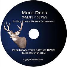 Learn Mule Deer Taxidermy for Beginners On DVD- Taxidermy DVD